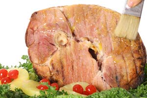 Collection of ham glaze recipes