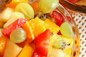 Collection of ambrosia fruit salad recipes