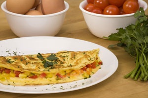 Collection of omelet recipes