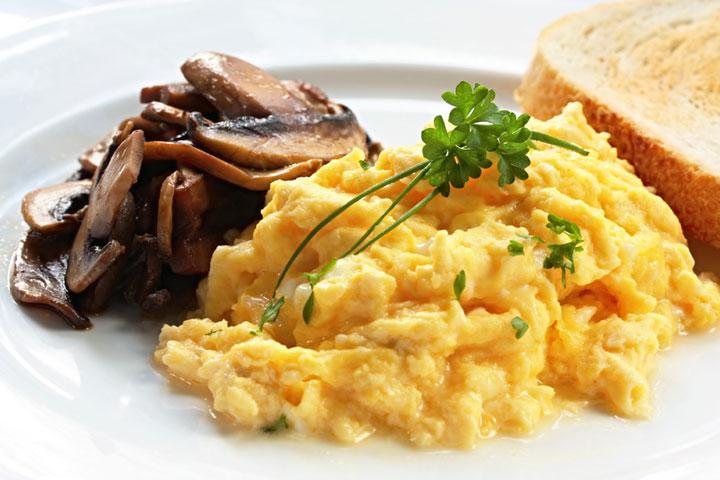scrambled egg recipes cdkitchen
