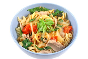 Collection of pasta with tuna recipes