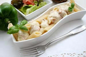 Collection of pasta with turkey recipes