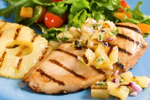 Collection of pineapple chicken recipes
