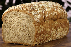 Collection of bread machine whole wheat and whole grain bread recipes
