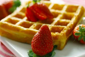 Collection of pancake and waffle recipes