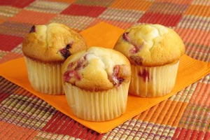 Collection of cranberry muffins recipes