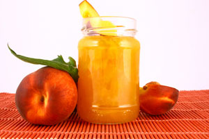 Collection of peach jam recipes