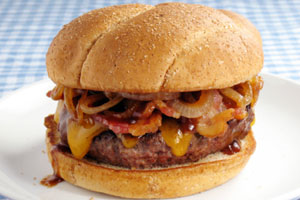 Collection of pizza burgers recipes