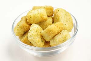 Collection of homemade croutons recipes