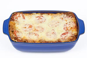 Collection of baked spaghetti recipes
