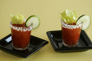 Collection of bloody mary recipes