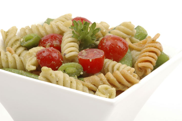 Pasta Salads Are A Great Side Dish Lunch Snack Or Potluck Recipe They Can Be Made With A Variety Of Pasta Shapes Like Elbow Macaroni Penne