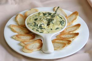 Collection of artichoke dip recipes
