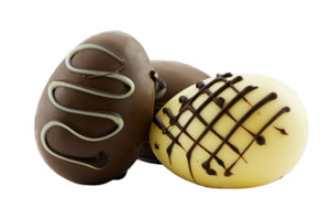 Collection of chocolate candy eggs recipes