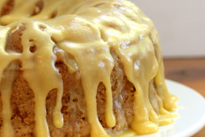 Collection of caramel frosting and icing recipes