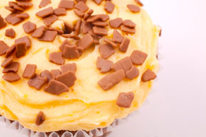 Collection of butterscotch frosting and icing recipes