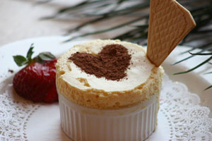 Collection of dessert souffle recipes