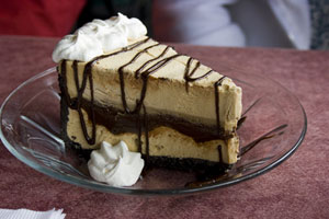 Collection of ice cream pie recipes
