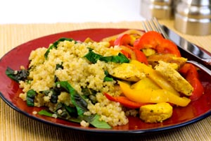 Collection of quinoa recipes