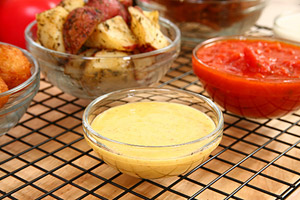 Collection of honey mustard dipping sauce recipes