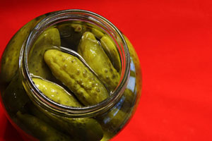 Collection of freezer pickles recipes