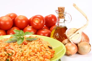 Collection of tomato rice recipes