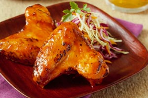 Collection of honey chicken wings recipes