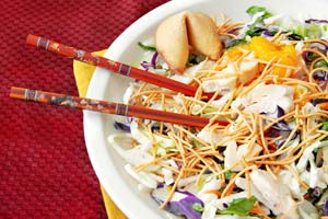 Collection of oriental chicken salad recipes