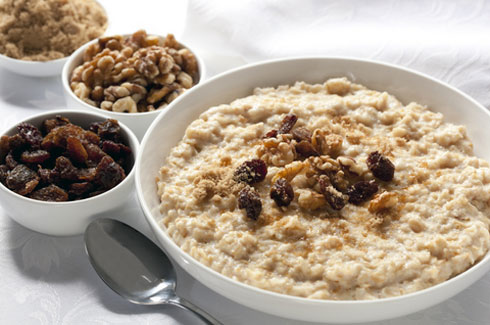 Dress up your breakfast oatmeal