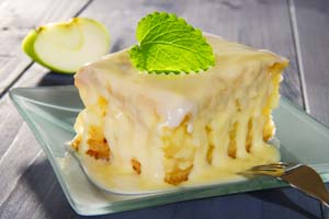 Collection of apple cake recipes
