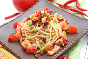 Collection of spaghetti pasta salad recipes
