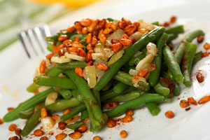 Collection of thanksgiving green bean recipes