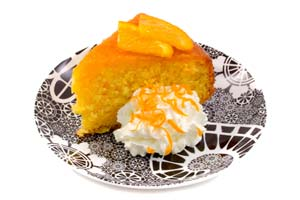 Collection of orange cake recipes