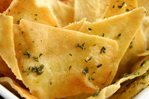 Collection of pita chips recipes