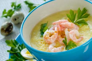 Collection of shrimp soup recipes