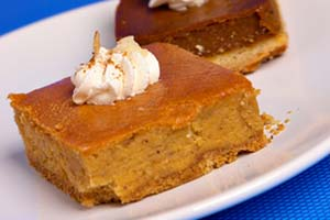 Collection of pumpkin bars recipes