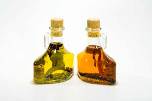 Collection of flavored oil recipes