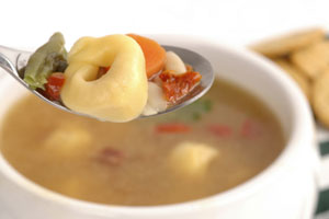 Collection of tortellini soup recipes