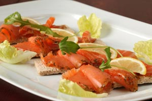 Collection of smoked salmon recipes