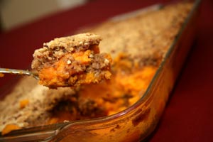 Collection of candied sweet potatoes or yams recipes