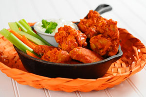 Collection of superbowl party chicken wings recipes
