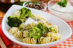 Collection of pasta with broccoli recipes