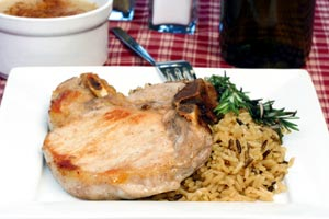 Collection of pork chops and rice recipes