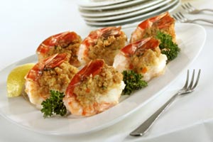 Collection of stuffed shrimp recipes