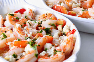 Collection of baked shrimp recipes