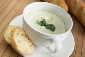 Collection of broccoli soup recipes
