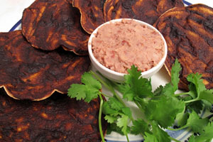 Collection of refried bean dip recipes