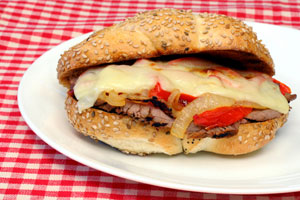 Collection of philly cheesesteak sandwich recipes