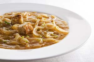 Collection of onion soup recipes