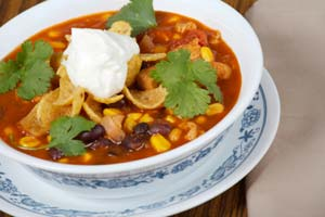 Collection of taco soup recipes
